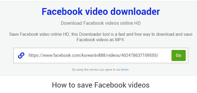 cara download video di facebook pc