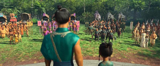 Raya y el último dragón - Reunión con las tribus
