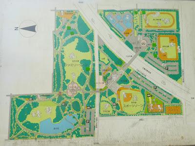 久宝寺緑地 園内マップ