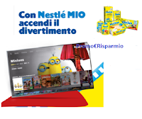 """Operazione Nestlè MIO """"Il MIO Film"""" : film gratis come premio certo"""
