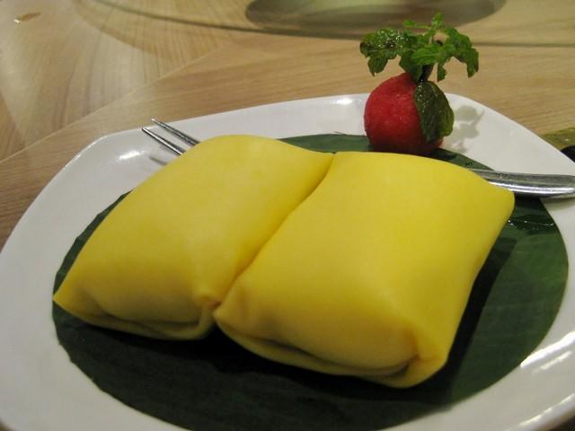 resep pancake durian keju
