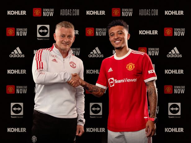 Jadon Sancho appears to confirm Man Utd's next transfer on Instagram Live video
