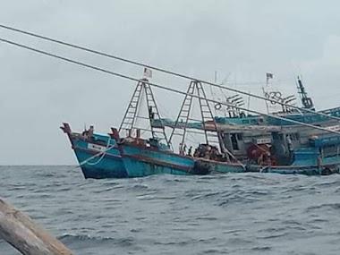 Pengawasan Melemah, Pencuri Ikan Pesta Pora