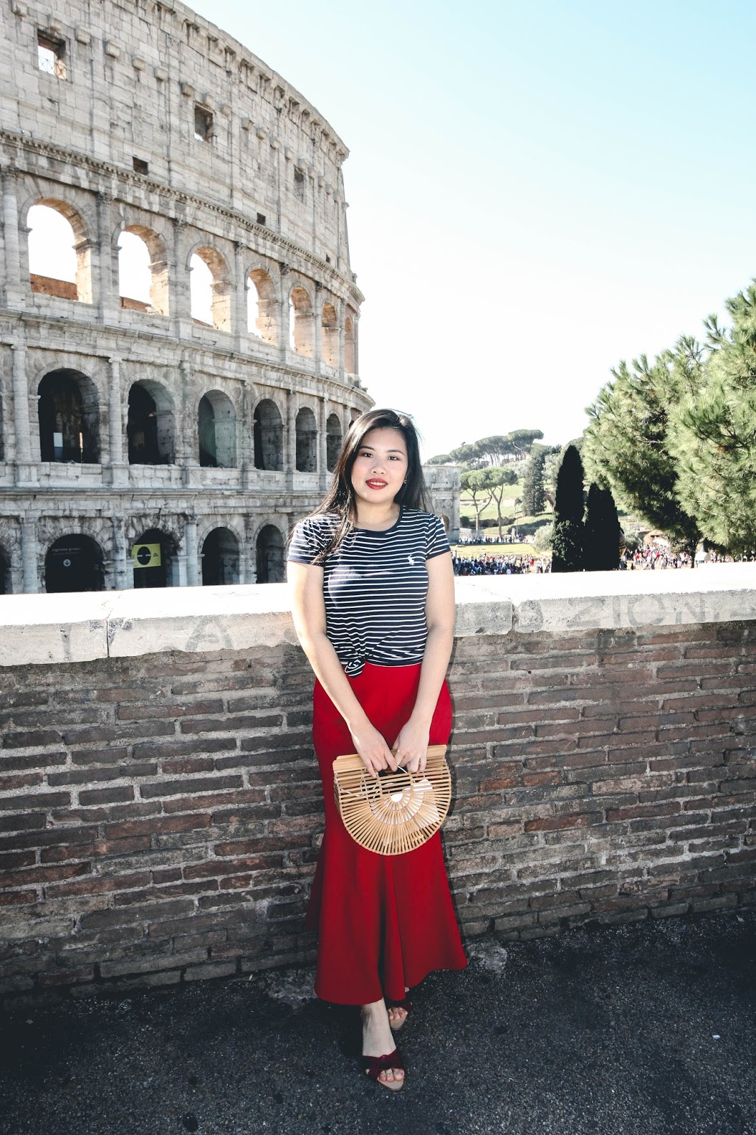 singapore blogger ralph lauren rome colosseum italy holiday europe summer outfit look book photography street style wiwt ootd
