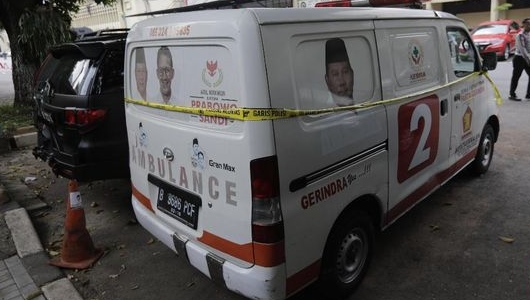 Gerindra Akui Ambulans Isi Batu Milik Perusahaan Anak Hashim