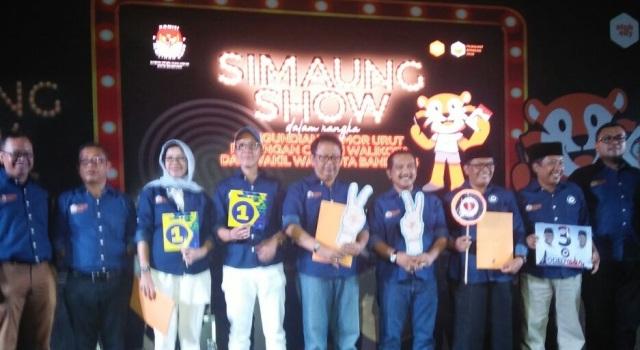 Nomor Urut Pasangan Calon Pilwalkot Bandung 2018