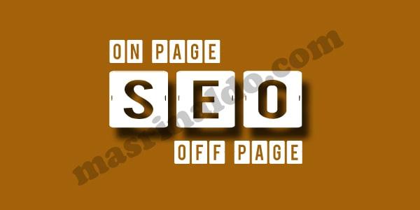 Macam-macam dan Jenis Teknik Seo di Blog Postingan Page One Ala Mas Rinaldo
