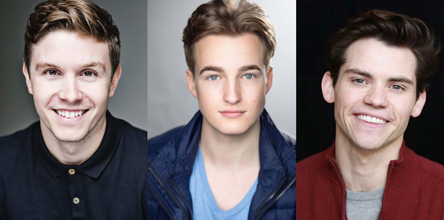 Les Miserables leading men  Craig Mather, Toby Miles and Paul Wilkins take to the River Thames to star in the festive 'Baaa Humbug! - A Stocking Full of Show Tunes'