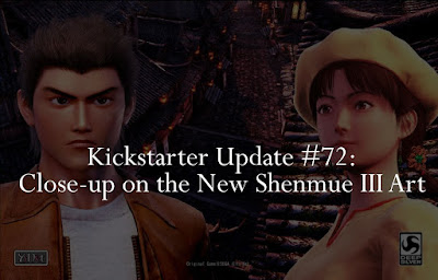 Close-up on the New Shenmue III Art