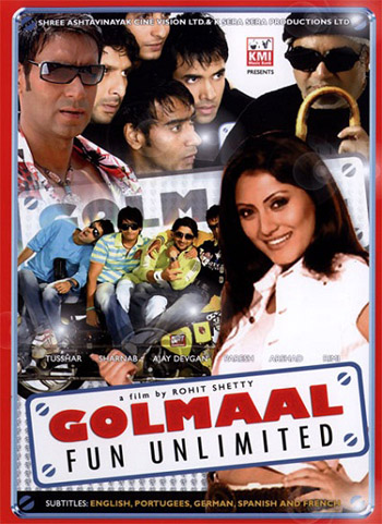 Golmaal 2006 Hindi 720p HDRip 1GB