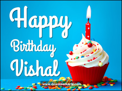 Happy Birthday Vishal Cake Image