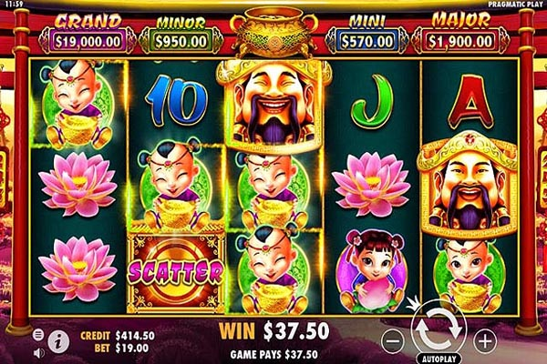 Main Gratis Slot Indonesia - Caishen's Gold (Pragmatic Play)