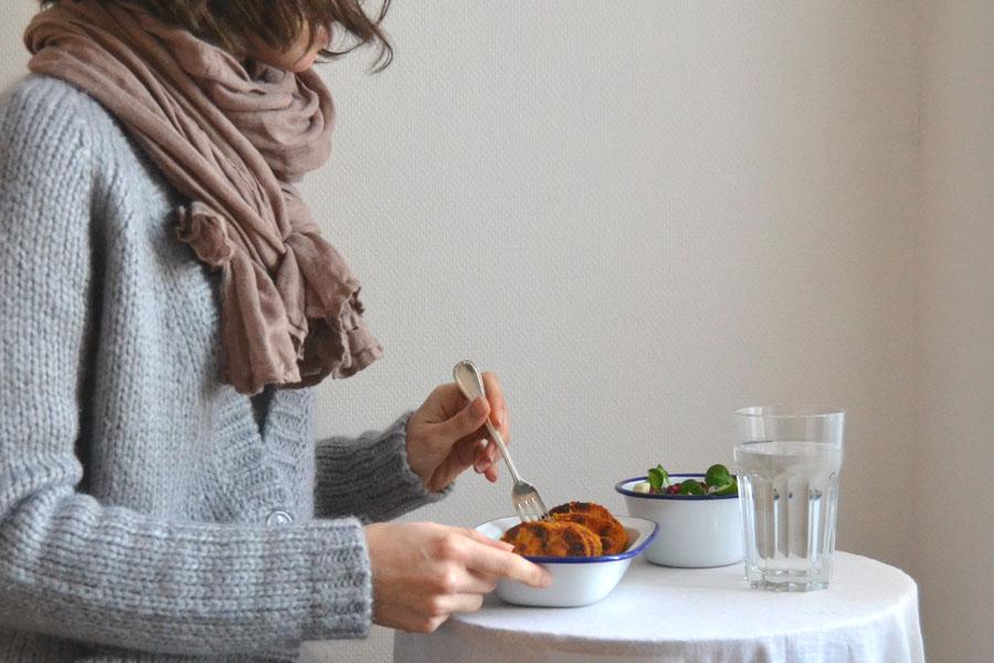 recette palets de patate douce blog spoonencore sans gluten