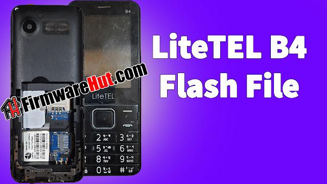 LiteTEL-B4-Flash-File-without-password