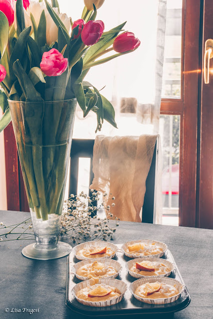 Cupcake al limone, soffici e profumati