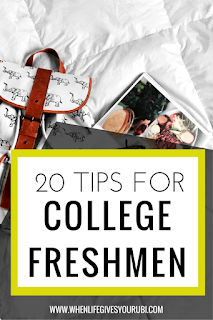 Need some advice before you start or end your freshmen year of college? Here are the 20 pieces of advice I wish someone had told me my freshmen year of college. From picking a major to saving money on textbooks.