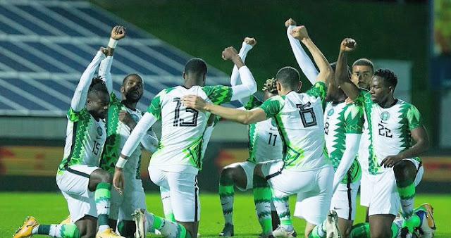 Super Eagles of Nigeria qualify for AFCON