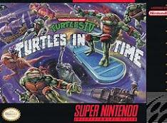 Super Nintendo classic, Turtles in Time