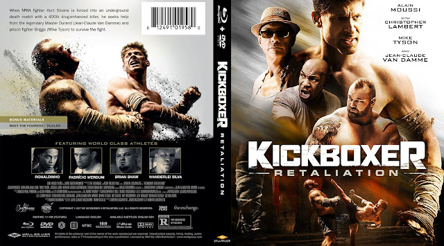 Kickboxer Retaliation Bluray Cover