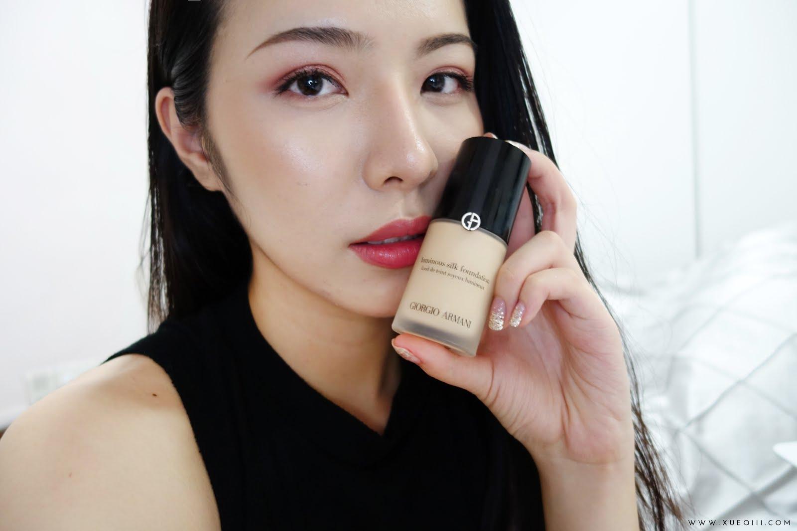093409122bb7 You. You. Giorgio Armani Luminous Silk Foundation Review Xueqi S Beauty ...