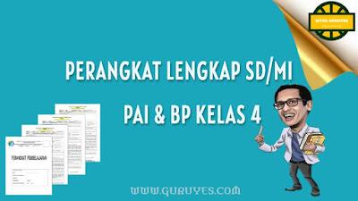 selamat berjumpa di ringkasan download perangkat Lengkap PAI  Lengkap Perangkat Pembelajaran PAI SD/MI Kelas 4 K13 Revisi Terbaru