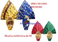Logo Pernigotti : per Pasqua ti ricarica con 5€ ( premio certo) e puoi vincere 50 Long Weekend da 2500€