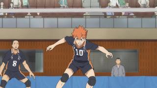 ハイキュー!! アニメ 3期8話   日向翔陽 かっこいい Hinata Shoyo   Karasuno vs Shiratorizawa   HAIKYU!! Season3