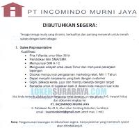 Loker Surabaya Terbaru di PT. Incomindo Murni Jaya Nopember 2019