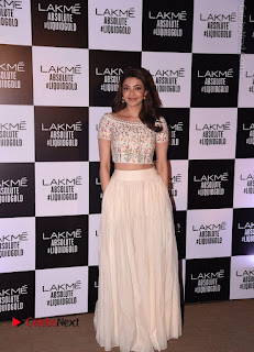 Actress Kajal Agarwal Latest Pos at LFW Summer 2017  0006.jpg