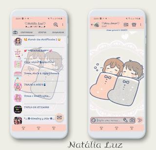 Coupal Love Theme For YOWhatsApp & Fouad WhatsApp By Natalia luz