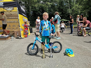 belfast city bmx club jacob strider champion