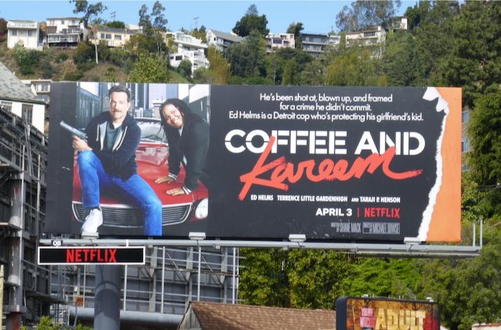 Coffee and Kareem Netflix movie billboard