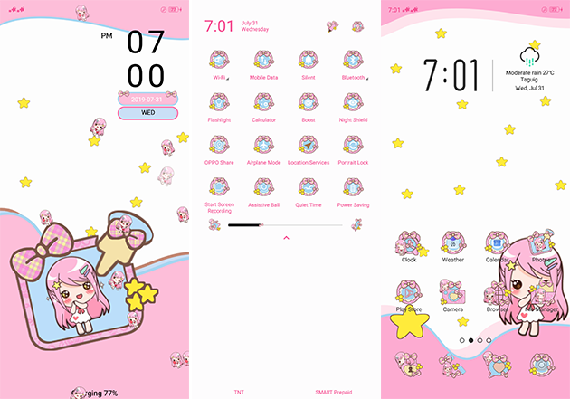 Oppo Theme: Noymen Kawaii Theme