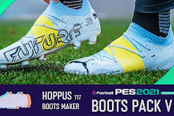 New Boots pack Season Update V4 + FIX - PES 2021