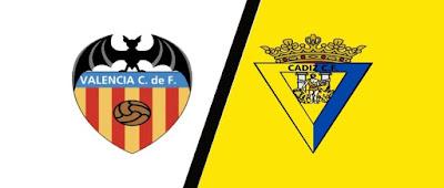 ماتش مباراة فالنسيا وقادش يلا شوت مباشر 4-1-2021 والقنوات الناقلة في الدوري الإسباني