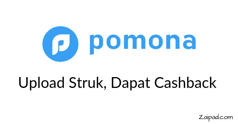 Cara mendapatkan uang lewat aplikasi pomona