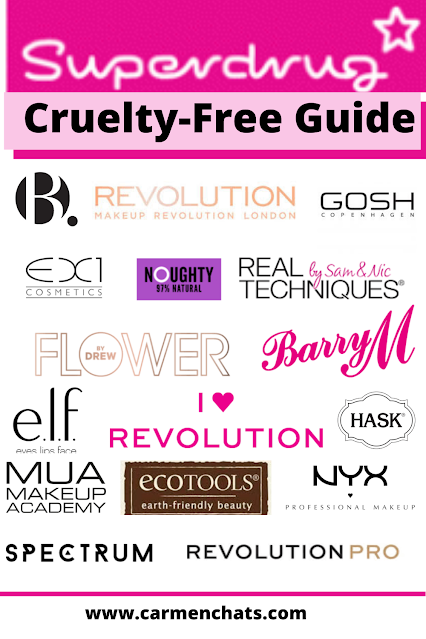 Cruelty-Free Brands Superdrug