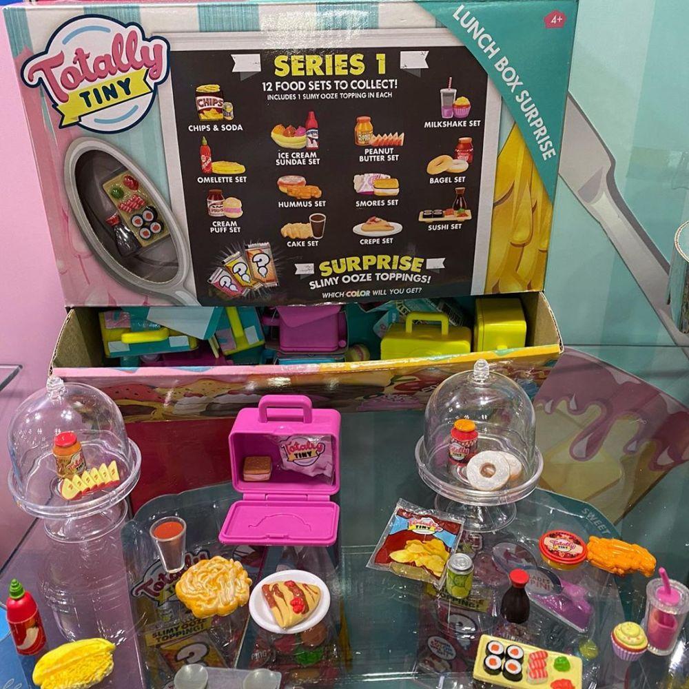 Миниатюрная еда Totally Tiny Lunchbox Surprise новинки игрушек 2020
