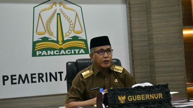 Gubernur Aceh Ikut Kontekrenbang Secara Virtual