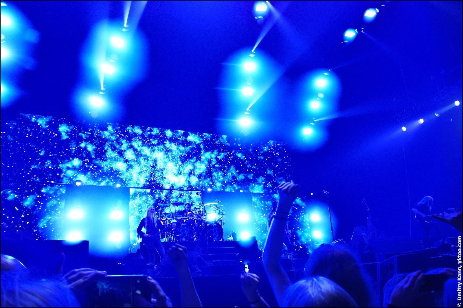 Nightwish: этюд в синих тонах.