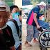 Ama, sinamahan ang naka wheelchair niyang anak sa pag-aaply sa trabaho bilang isang guro