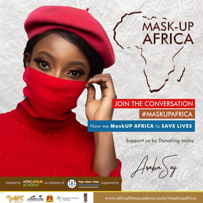 COVID-19 Scare : Africa Film Academy To Launch 'MASK UP AFRICA' On May 25