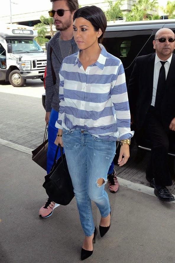 เสื้อยืดกางเกงยีนส์