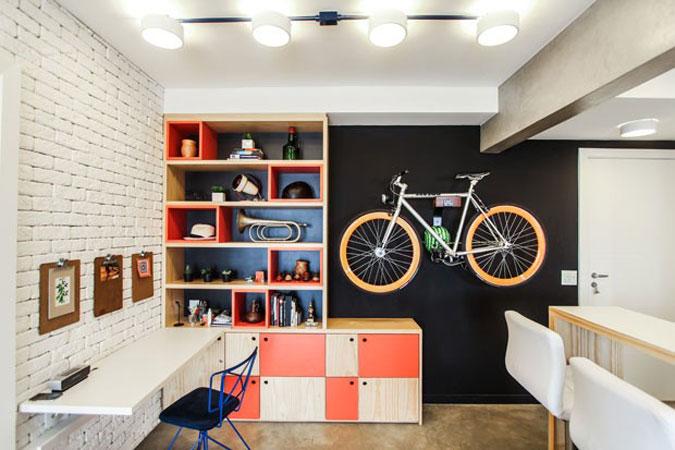 Bicicletas na Decoração 7