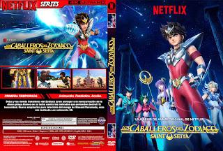 KNIGHTS OF THE ZODIAC – CABALLEROS DEL ZODIACO: SAINT SEIYA – 2019 [COVER – DVD]