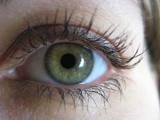 [a human eye]
