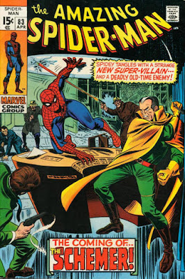 Amazing Spider-Man #83, the Schemer
