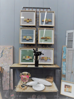 piezas de arte de merale en el desembalaje de Bilbao en el bilbao exhibition center