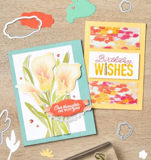 Stampin' Up! Sale-a-Bration Coordination Products + 13 NEW Project Ideas ~ Lasting Lily ~ More Than Words
