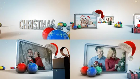 Videohive Christmas Photo Gallery 9678828